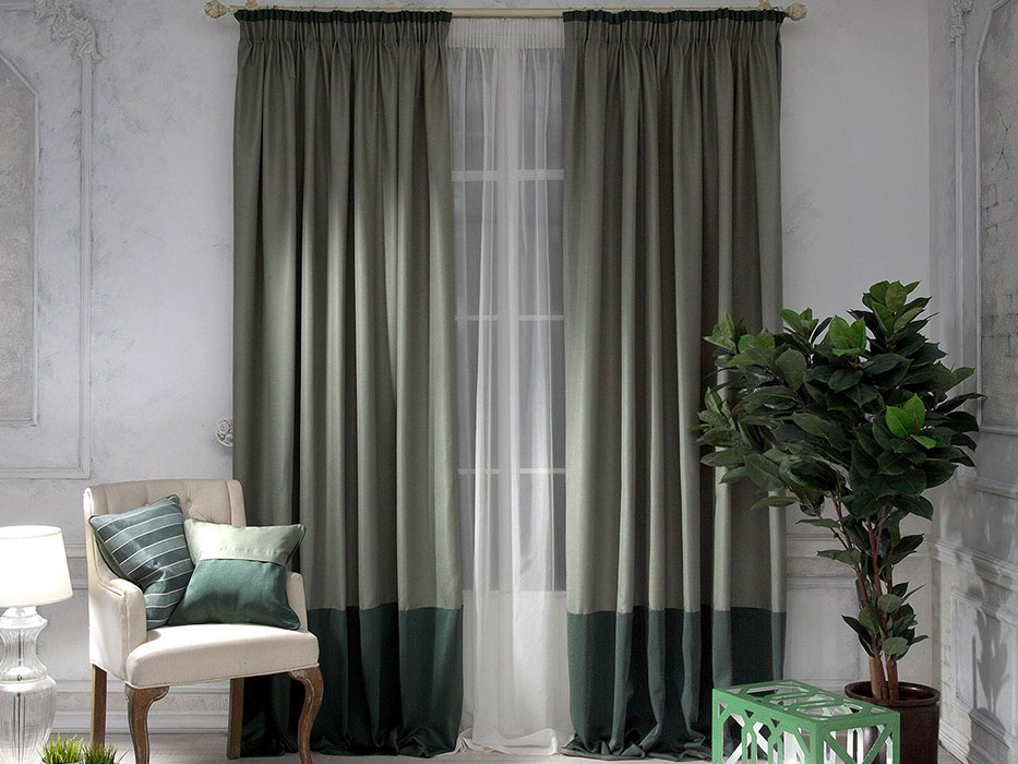 Красивые простые шторы