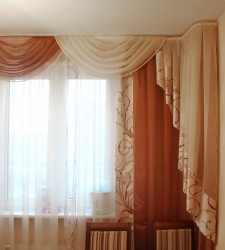 Шторы на окна разных форм