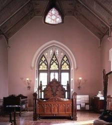 шторы в стиле готика
